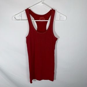 Red sparkly mudd tank top
